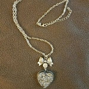 Jewelry - MUST GO THIS WEEK | Pyrite Crystal Heart Necklace